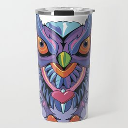Owl Colors Travel Mug