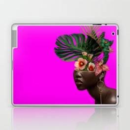Lady FLOWERS XVII Laptop & iPad Skin