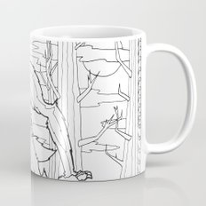 Werewolf from the Bestiary Coloring Book Coffee Mug