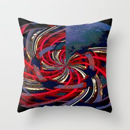 Twisted Oval Throw Pillow