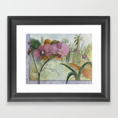 Velvet Cactus Framed Art Print