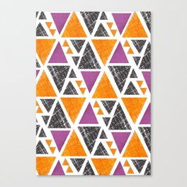 Triangles 1 Canvas Print
