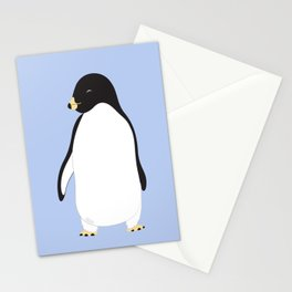 Penguin - Blue Stationery Cards