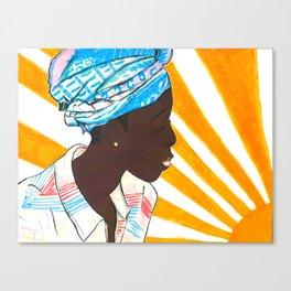 African sun Canvas Print