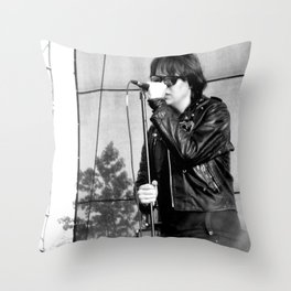 Jules - The Strokes Throw Pillow