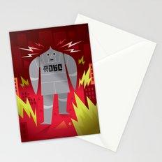 Robo! Destroy! Stationery Cards