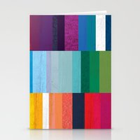 stripes Stationery Cards featuring Stripes by Kakel