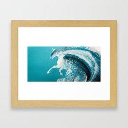 Ocean Horse Framed Art Print