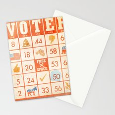 The Bingo Vote Stationery Cards