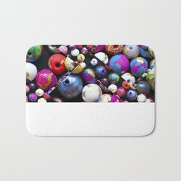 Bead Crazed Bath Mat