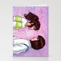 chihiro Stationery Cards featuring Chihiro and Haku by Kimberly Castello