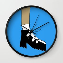 exposed socks Wall Clock