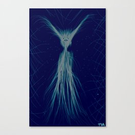 spooky spook magical fairy ghost Canvas Print