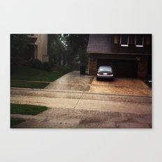 Hard rain Canvas Print