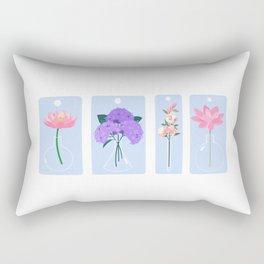 Floral Chemistry Rectangular Pillow