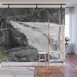 Washed Out Roots Wall Mural