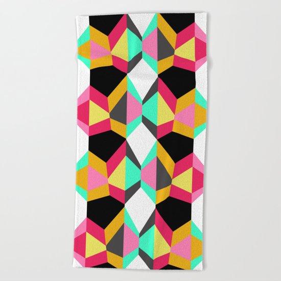 Geometric#18 Beach Towel