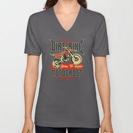 Motorcycle - Bike Legends - 04 - dark Unisex V-Neck