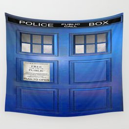 doctor who public box  Wall Tapestry