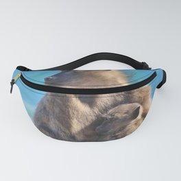 Mother and Baby Monkey Fanny Pack