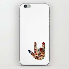 'I Love You' in American Sign Language iPhone Skin