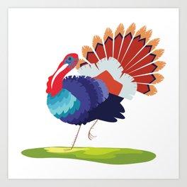 Turkey, turkey Art Print