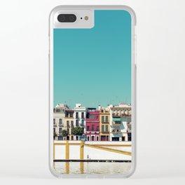 Triana, the beautiful Clear iPhone Case