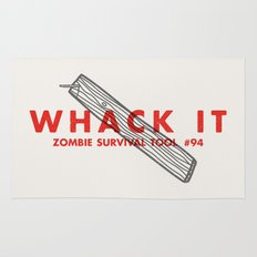 Whack it - Zombie Survival Tools Rug