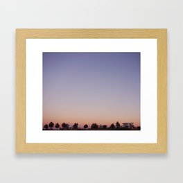 Dreaming in Marathon, Texas Framed Art Print