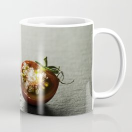 Fresh grape tomatoes with salt Coffee Mug