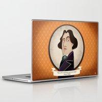 oscar wilde Laptop & iPad Skins featuring Oscar Wilde said... by Mrs Peggotty