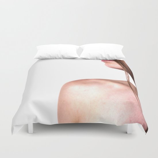 profil woman 4 Duvet Cover