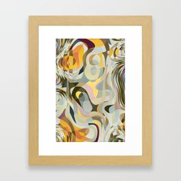 Cold Convergence Framed Art Print