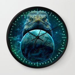 Reptilian Nation Wall Clock