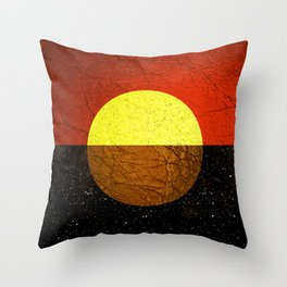 Abstract #227 Throw Pillow