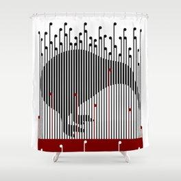 Kiwi in Rapou Shower Curtain