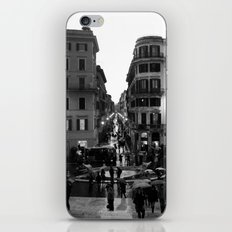 Rain in Rome iPhone & iPod Skin