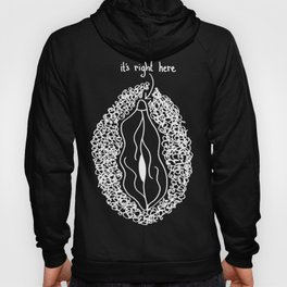 it's right here (inverse) Hoody