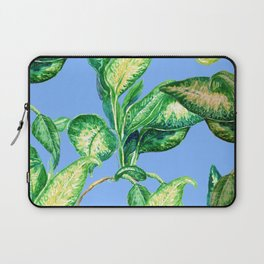 blue blue blue and green Laptop Sleeve