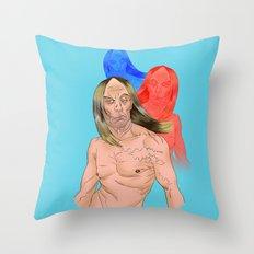 The Idiot Throw Pillow