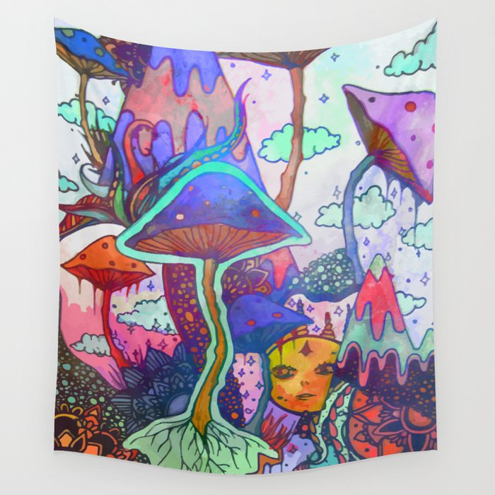 World of Dreams Wall Tapestry