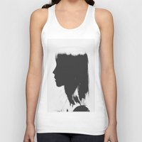 silhouette Tank Tops featuring Silhouette   by Jane Lacey Smith