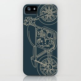 Cafe Racer 1 iPhone Case