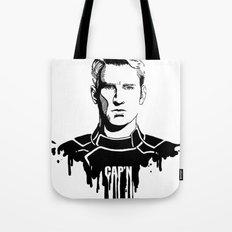 Avengers in Ink: Captain America Tote Bag