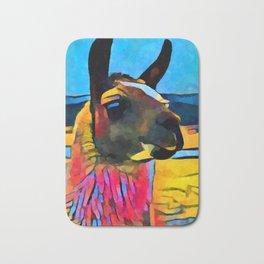 Llama Bath Mat