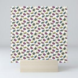 Colorful small turtles Mini Art Print