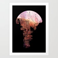 run Art Prints featuring Secret Streets by David Fleck