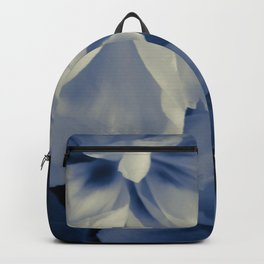 White peonies background Backpack