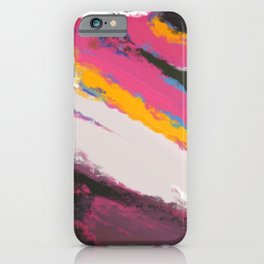 Abstract Holi iPhone Case