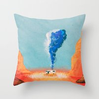 breaking bad Throw Pillows featuring Breaking Bad. by Caleb Boyles